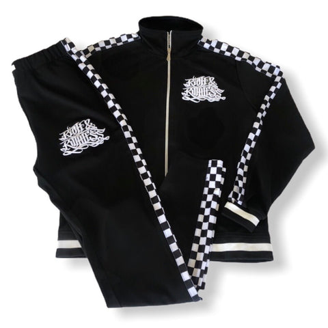 Rich & Ruthless Tracksuit  (Checkered)
