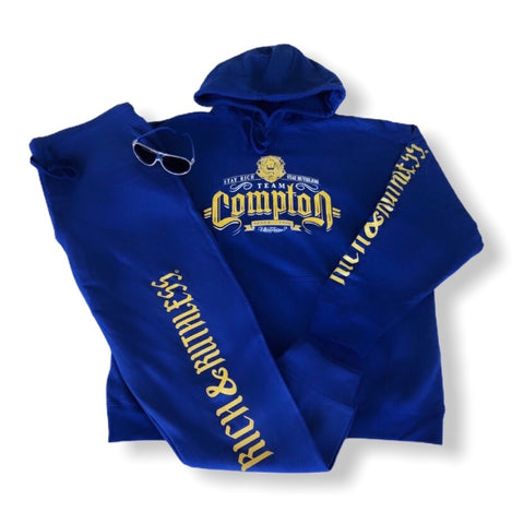 Stay Rich & Ruthless 'Team Compton' Sweatsuit (Blue)