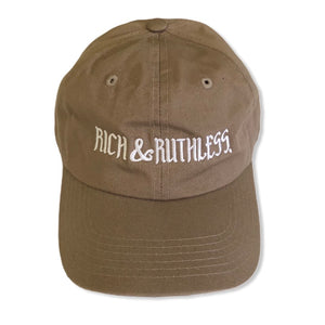 Rich & Ruthless (brown cap)