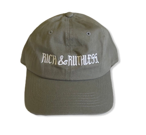 Rich & Ruthless (gray cap)