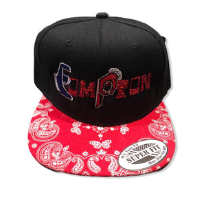 Compton Unity snapback (Red Brick) ~ red