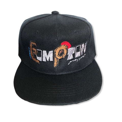 Compton Unity Fitted Cap ~ black