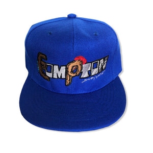 Compton Unity Fitted Cap ~ blue