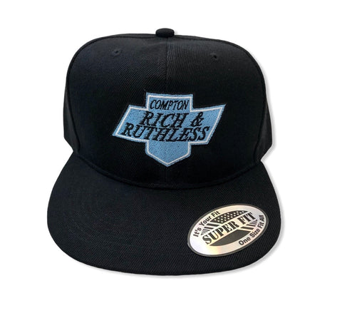 Compton Rich & Ruthless Kings Snapback (Black)