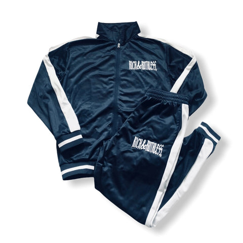Rich & Ruthless Tracksuit navy