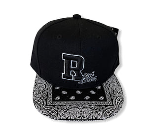 Rich & Ruthless (Snapback Black Paisley)