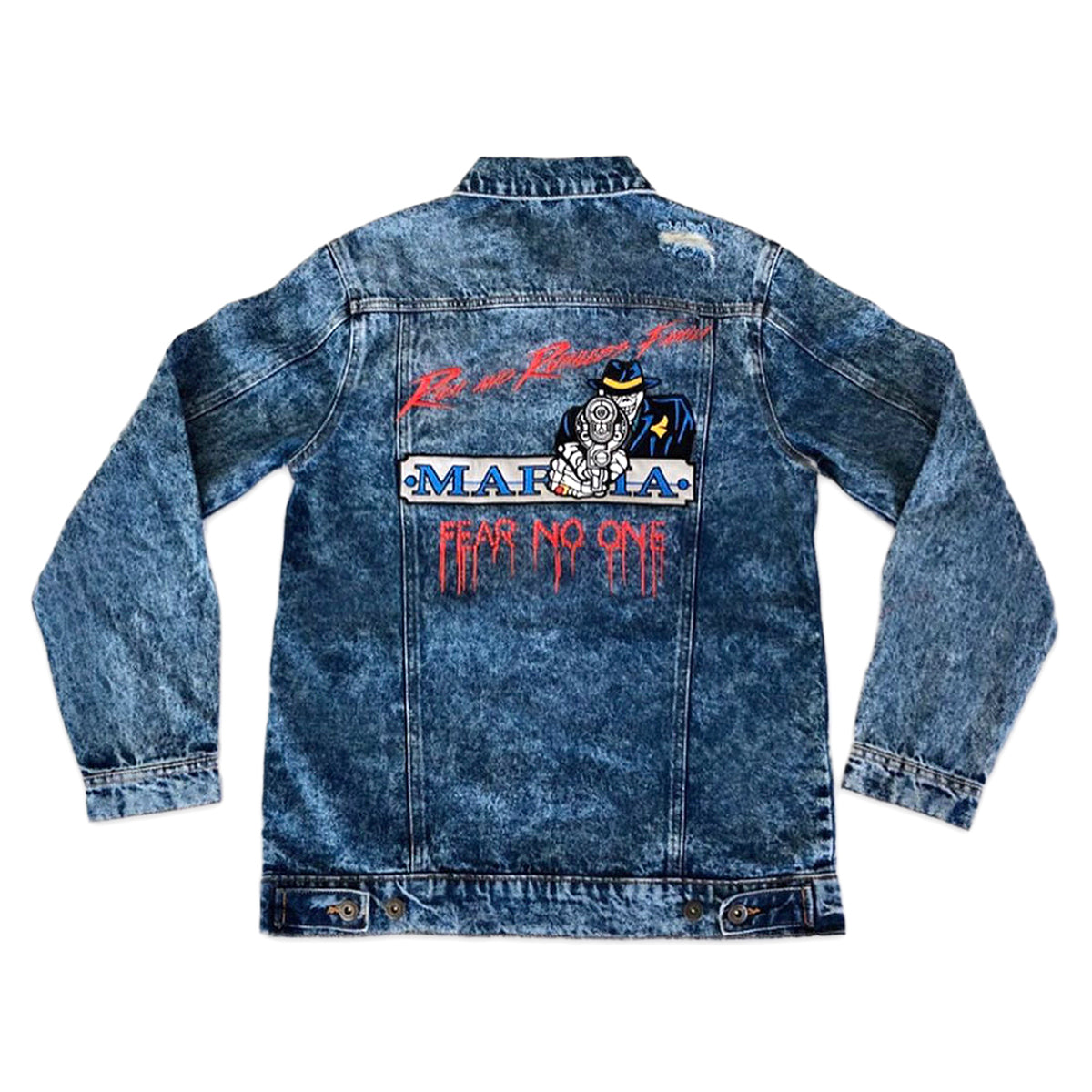 Rich & Ruthless Family Denim Jacket