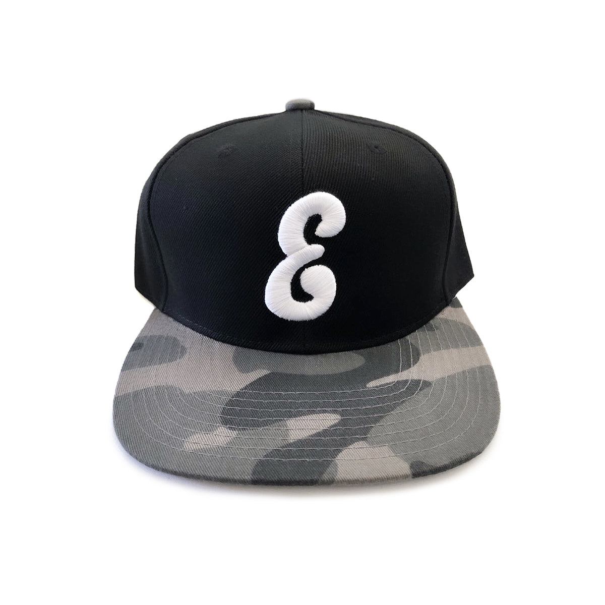 E Hat (Black/Green Camo)