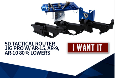 5D Router Jig Pro Freedom Combo