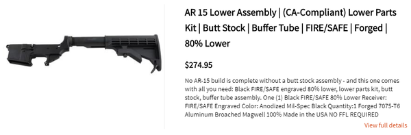 Colored Ar 15 Lowers