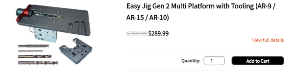 Easy Jig Gen 2 Multi Platform with Tooling (AR-9 / AR-15 / AR-10) - Blog Photo #2