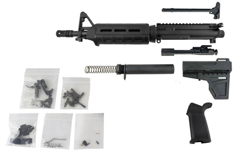 "5.56 AR Pistol Kit (10.5"" Barrel & Fixed Front Sight MOE Handguard) with 80% Lower - 80% Lowers"