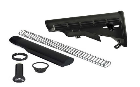 Adjustable Carbine Stock & Buffer Tube Assembly - 80% Lowers