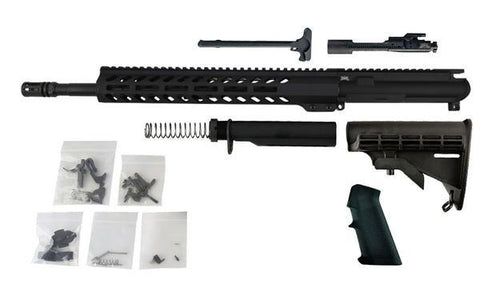 "300 Blackout Freedom Build Kit (16"" Barrel and MLOK Handguard) with AR15 Fire/Safe 80% Lower - 80% Lowers"