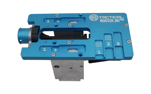 Router Jig PRO Multi Platform (80% Lower Jig) by 5D Tactical (AR-15 / AR-10 / AR-9)