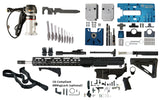 "Ultimate AR 15 Rifle Kit (5.56 16"" Stainless Steel & M-LOK Handguard) - 80% Lowers"