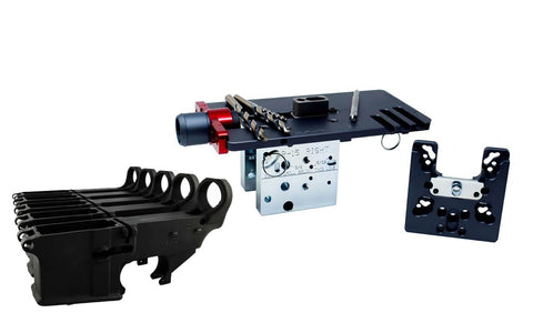 80% Lowers Fire/Safe (5-pack) & Easy Jig Gen 2 Multi Platform with Tooling (AR-9 / AR-15 / LR-308) - 80% Lowers