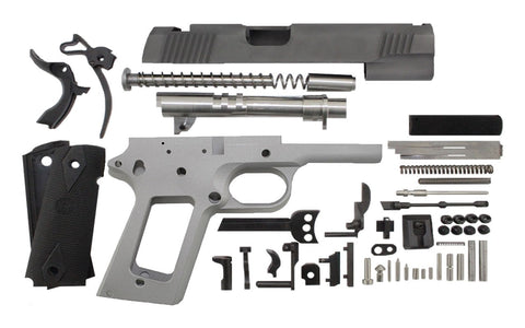 "45 ACP / 4.25"" Commander / Bead Blasted 1911 Build Kit - 80% Lowers"