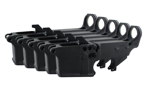 AR-9 (9MM) 80% Lower Fire/Safe Marked (5-pack)