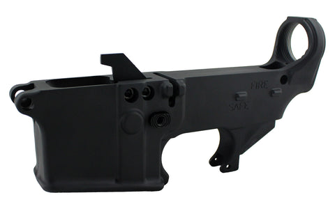 AR-9 (9MM) 80% Lower Fire/Safe Marked (1-pack)