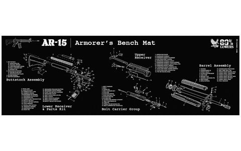 AR-15 Build Mat - 80% Lowers