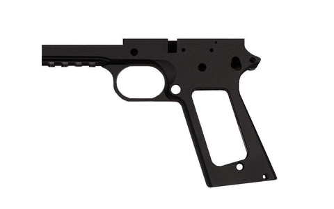 "9mm / 5"" Government / Tactical Anodized Black Frame - 80% Lowers"