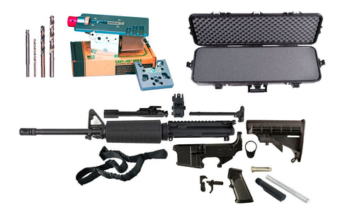 Budget Ultimate 300 Blackout Rifle Kit - 80% Lowers