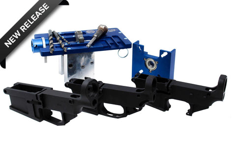 The Freedom Combo: 5D Tactical Router Jig PRO w/ AR-15, AR-9, AR-10 80% Lowers - 80% Lowers