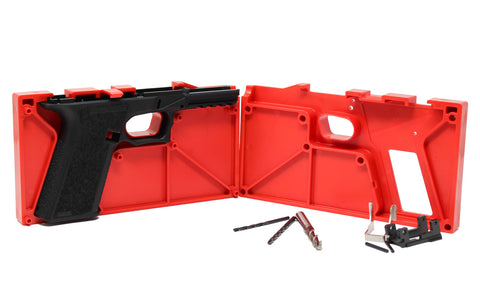 PF940V2 Polymer 80 Standard Pistol Frame and Jig Kit (Glock 17/34) - 80% Lowers