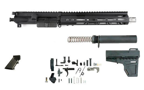 "Complete Build Kit - 300 Blackout (10.5"" SS Barrel & 10"" M-Lok Handguard) AR 15 - 80% Lowers"
