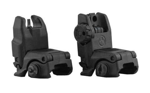Magpul Flip-Up Sights Front & Rear - AR-15 - 80% Lowers