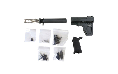 Shockwave Pistol Stock Kit with Premium Lower Parts Kit - 80% Lowers