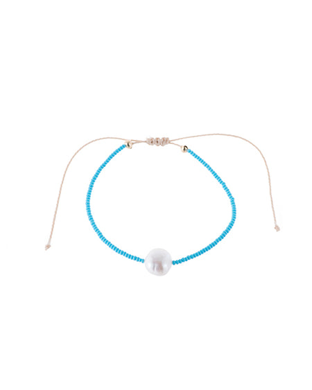 Beaded Pearl Choker