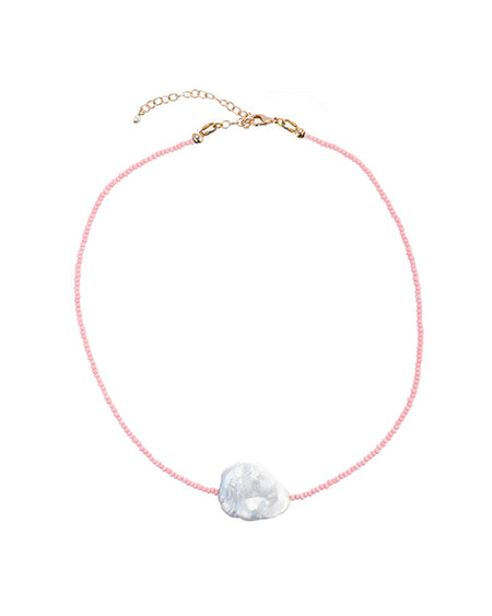 June White Pearl Choker