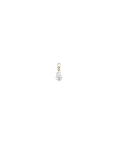 June White Pearl Drop Earring