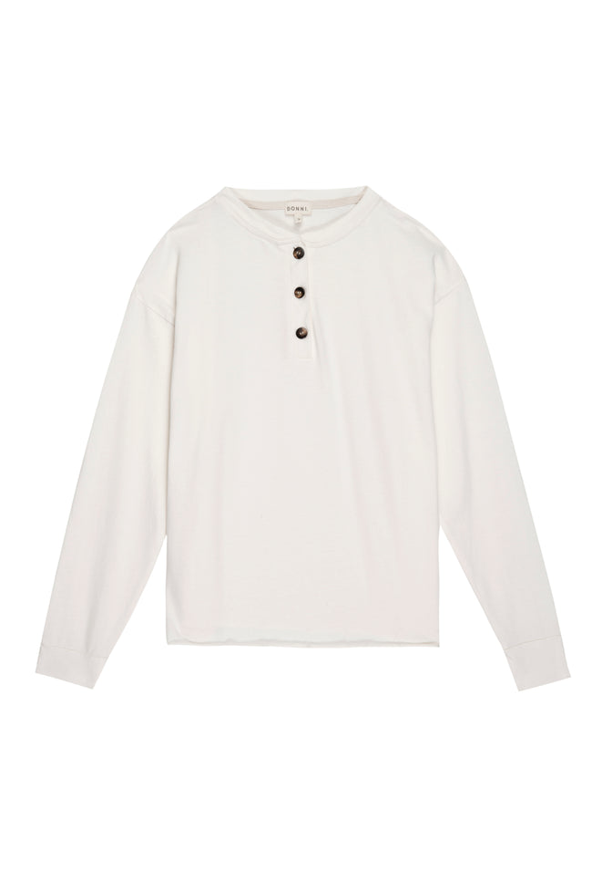 Henley Tee - Long Sleeve