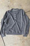 Terry Henley Sweatshirt Heather Grey