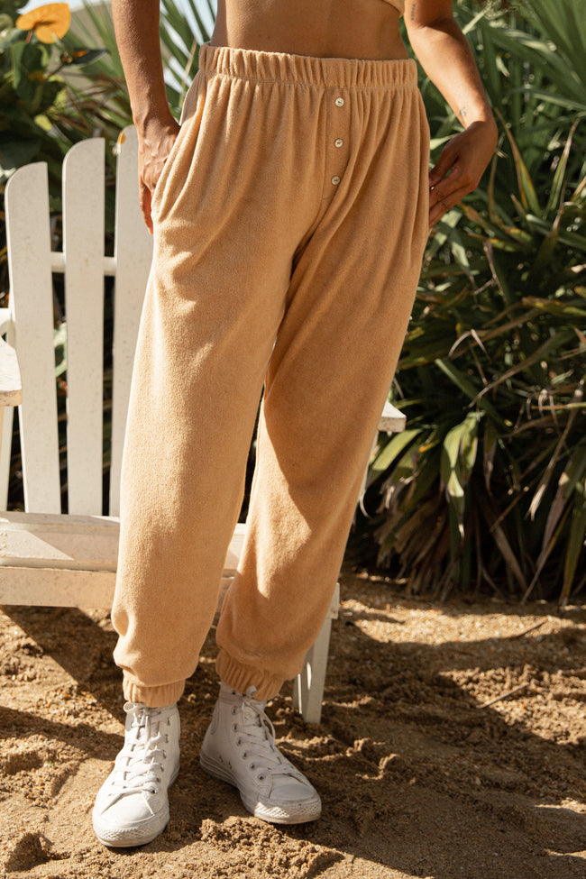 Terry Henley Sweatpant Latte