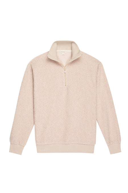 Butter Fleece Henley Sweatshirt