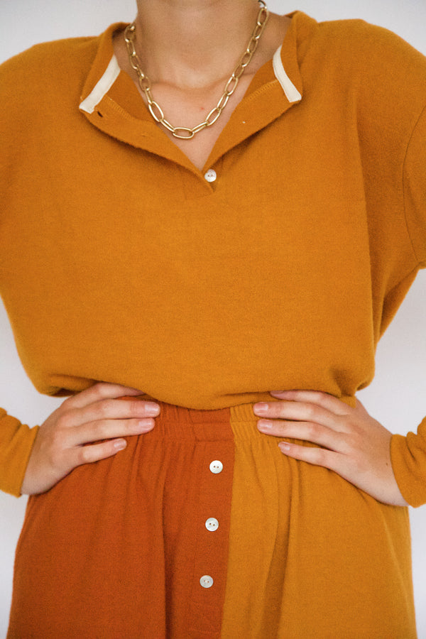 Sweater Henley by Donni