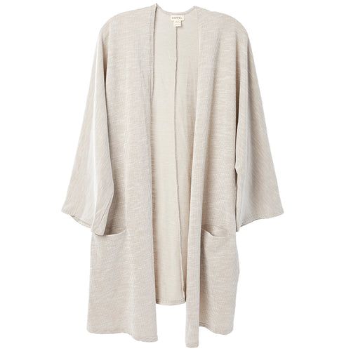 Rib Sweater Coat