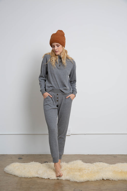 Thermal Henley Sweatpant