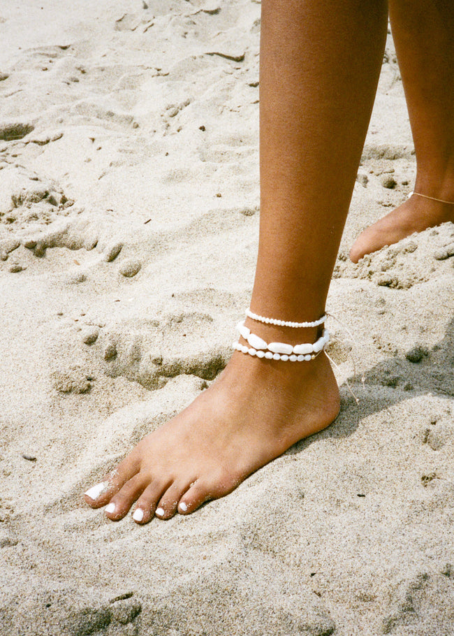 Small Pearl Anklet