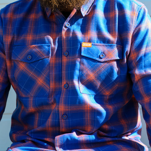 DIXXON HOT HARLEY NIGHTS FLANNEL - LIMITED EDITION