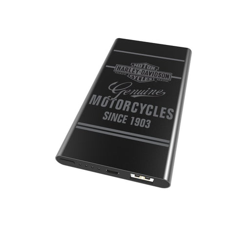 HARLEY-DAVIDSON GENUINE BAR & SHIELD PORTABLE BACKUP BATTERY
