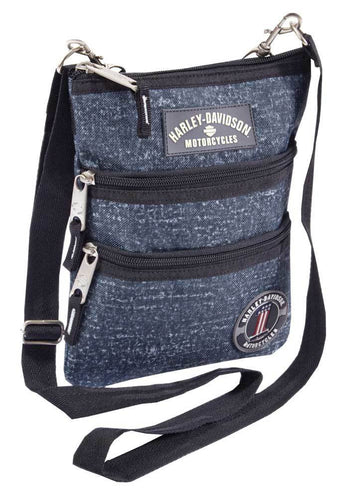 Harley-Davidson® Women's Cross-Body Crossbody Sling Purse