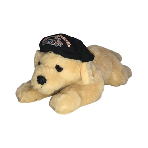 HARLEY-DAVIDSON RETRIEVER CUDDLE BUD DOG