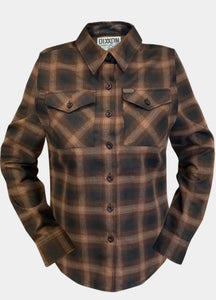 WOMEN'S BOURBON 2020 FLANNEL