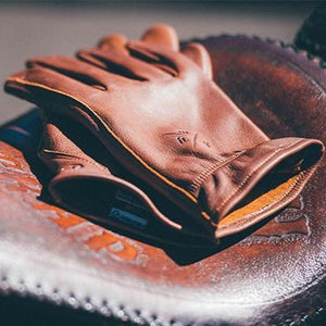 HIGHWAY 21 LOUIE GLOVE - BROWN LEATHER