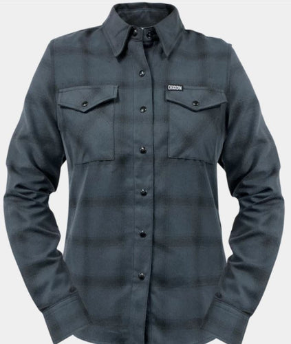 WOMEN'S GRAYSCALE FLANNEL